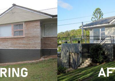 Delux Painting Exterior Before and After Gallery 03 (Rochedale, Springwood, DaisyHill, Shailer Park)
