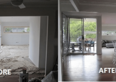 Delux Painting Interior Before and After Gallery 03 (Rochedale, Springwood, DaisyHill, Shailer Park)